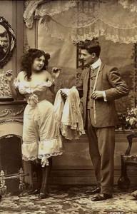 белье женское 19 век